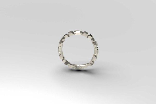 Construct steel bracelet for women
