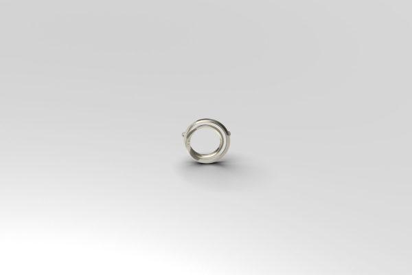 Laika silver pendant necklace for women
