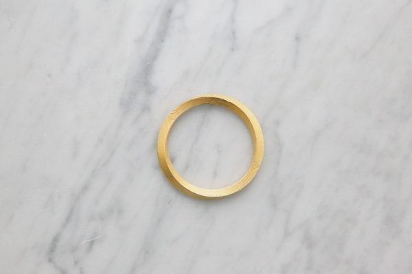 Mobius One gold bracelet for women