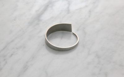 Tides steel bracelet